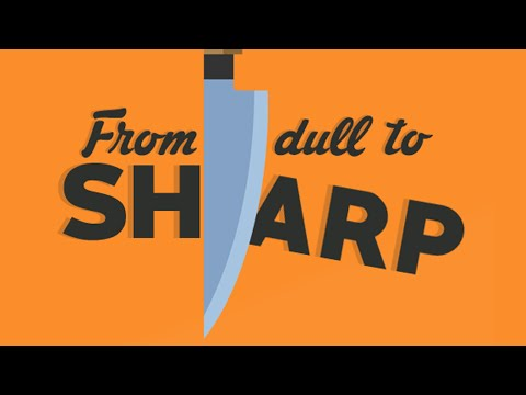 A Complete Video Guide to Sharpening Your Knives with a Whetstone