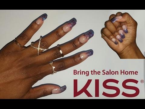 KISS Gel Fantasy press tutorial! | Ashley The Mogul