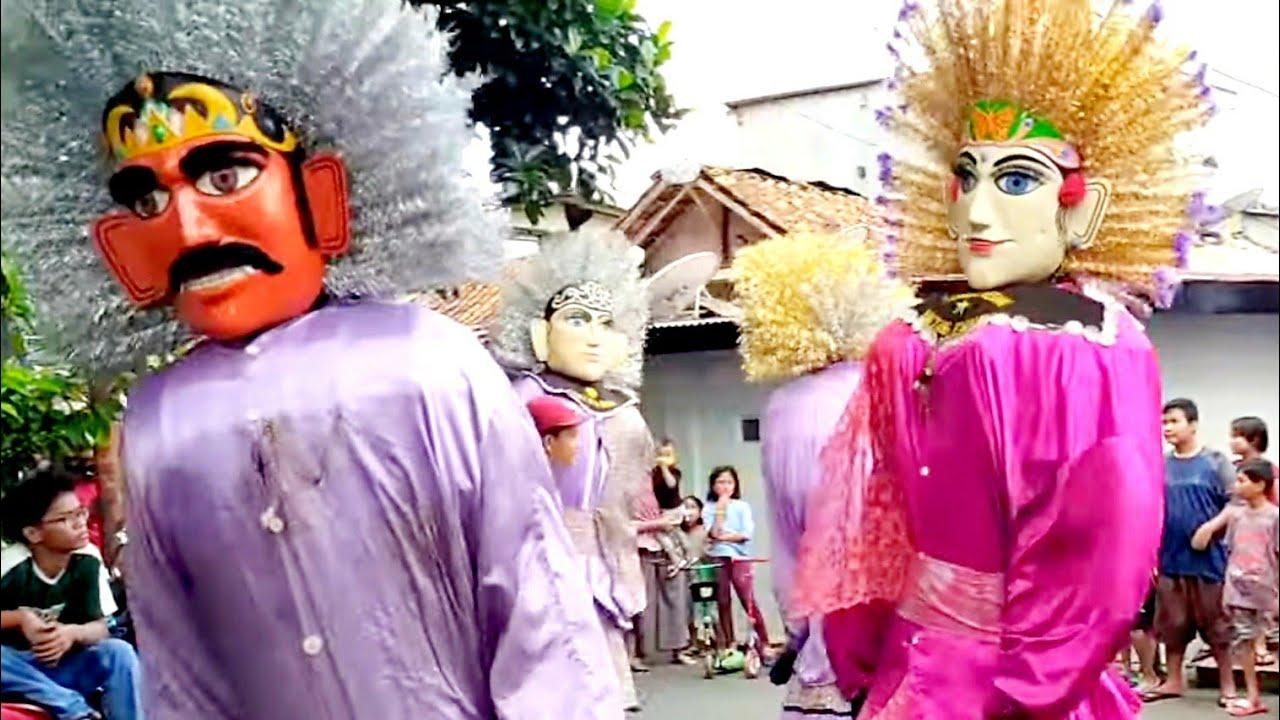 Ondel OndeL Acara Ulang Tahun | Ondel2 Hiburan Warga Jakarta