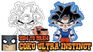 How to Draw Goku | Ultra Instinct Form (Art Tutorial)