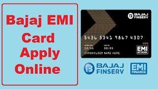Bajaj Emi Card Online Apply - Bajaj Finserv EMI Card - How to apply bajaj emi card online