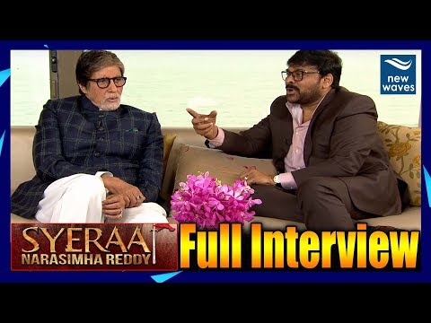 Sye Raa Movie Interview | Chiranjeevi | Amitabh Bachchan | Farhan Akhtar | New Waves