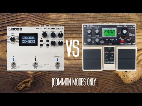 DD500 vs DD20 - Basic Modes