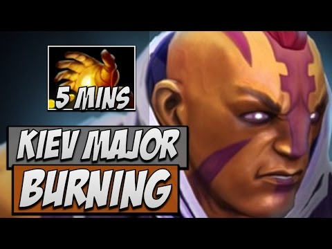 IG.Burning Anti-Mage VS OG in Kiev Major | Dota Gameplay