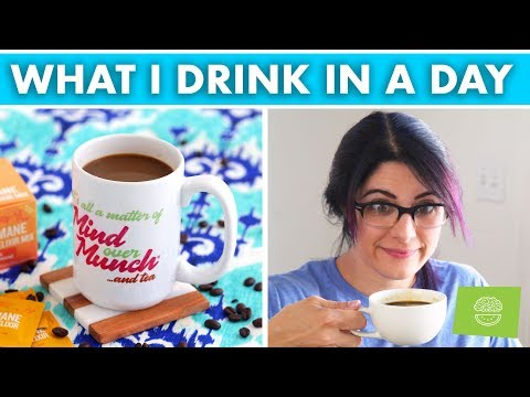 What I Drink In A Day for Energy, Focus & Productivity!