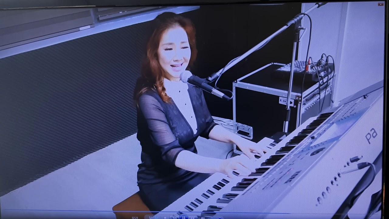나훈아 가지마오 전자올겐 가수 #박세빈 선생님 연주 보컬 30 랜선 콜라보-노래방무선마이크-