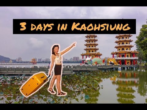 Taiwan vlog part 1: Traveling solo around Kaohsiung