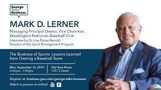 George Talks Business - Mark Lerner