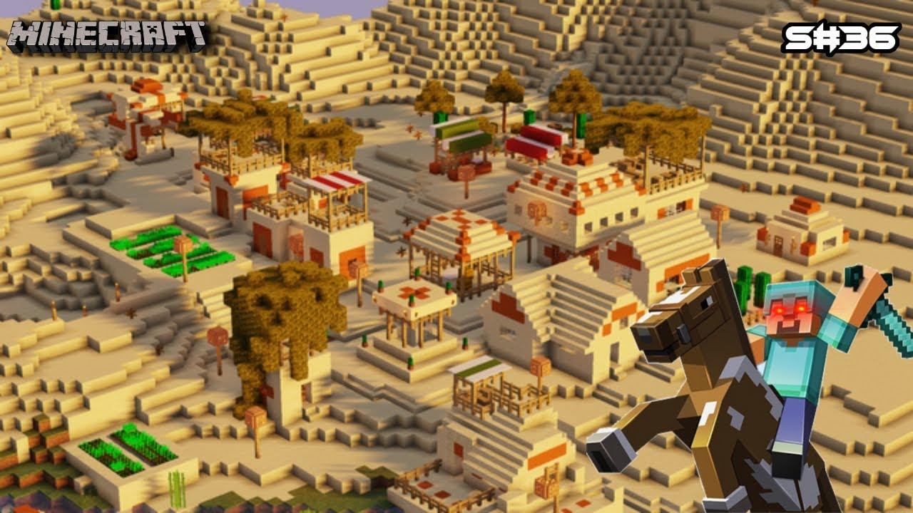 Download I Found DESERT VILLAGE in Minecraft!! MALAYALAM