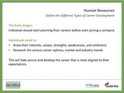 Career Development Stages - YouTube