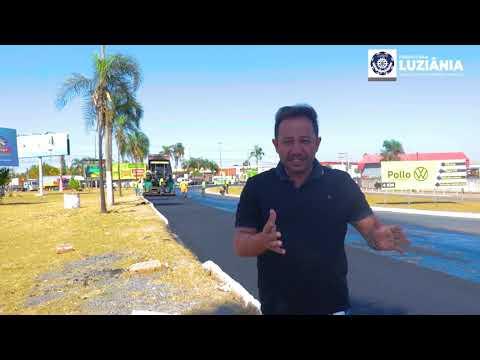 Recapeamento Asfáltico - Alfredo Nasser #Luziania