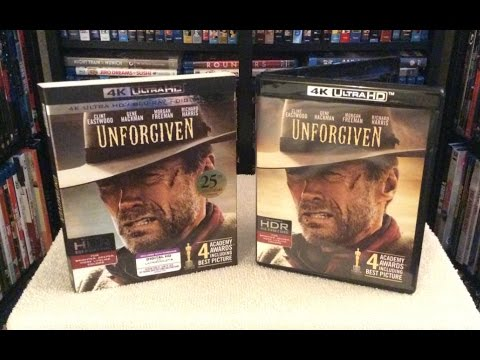 Unforgiven 4K BLU RAY UNBOXING and Review - Clint Eastwood