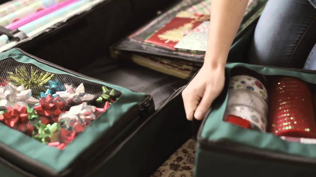ULTIMATE GIFT WRAP STORAGE BAG   Improvements Catalog   YouTube