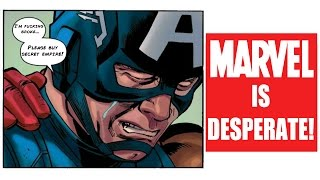 Marvel Is Literally Begging You To Buy Their Books