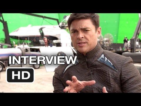 Star Trek Into Darkness Interview - Karl Urban (2013) - Chris Pine Movie HD