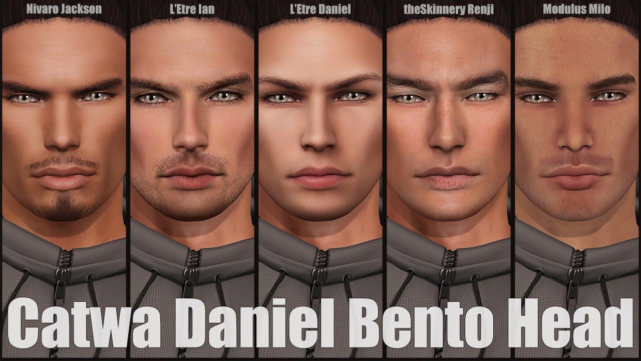 Catwa Daniel Bento Mesh Head in Second Life