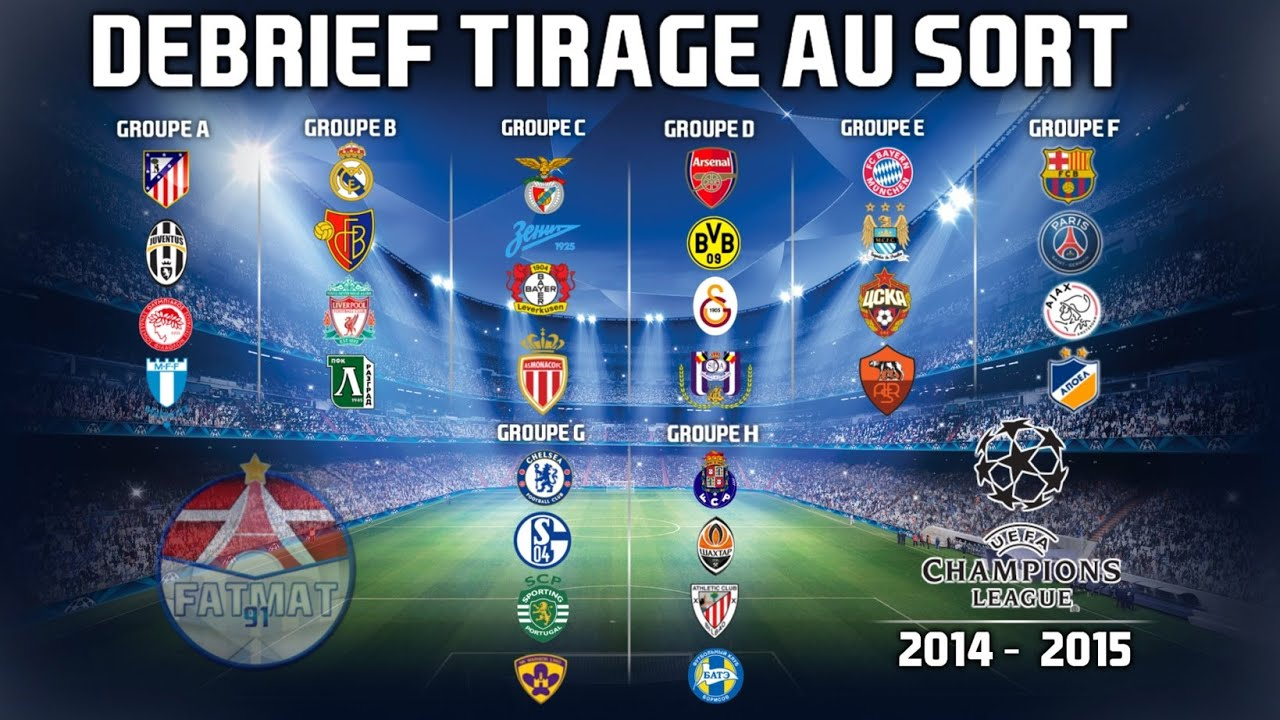 Fifa14 d brief ligue des champions 2014 2015 tirage - Tirage au sort coupe de la ligue 2015 ...