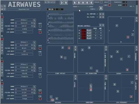 AirWaves for Kontakt 5.6  Randomizer Examples