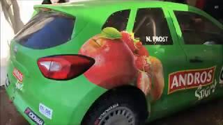 Une voiture électrique défie les voitures à moteur thermique sur le Trophée Andros
