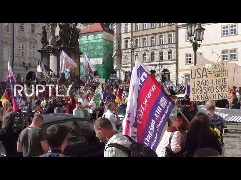 LIVE: Anti-Merkel protest to take place in Prague