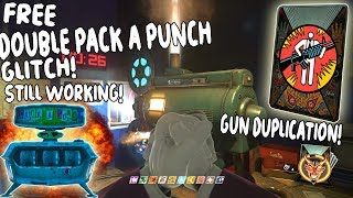 Infinite Warfare Zombies SOLO/COOP *DOUBLE* PACK A PUNCH FOR FREE GLITCH! GUN DUPLICATION