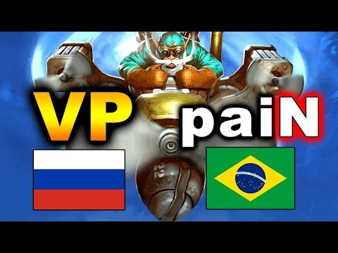 VP vs PAIN - GRAND FINAL - RUSSIA vs BRAZIL - WESG 2018 DOTA 2
