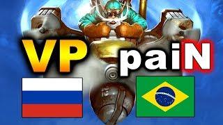 VP vs PAIN - GRAND FINAL - RUSSIA vs BRAZIL - WESG 2018 DOTA 2