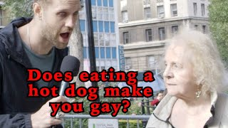 Does Eating a Hot Dog Make You Gay?