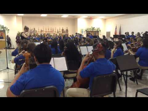 Trickum Middle School Youth #Orchestra Concert - 12-1-2015 #classical #music