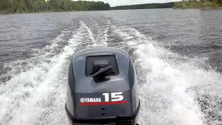 Yamaha 15 FMHS + Brig D330 - 45 km/h