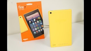 Amazon Fire 7 Tablet - 2017: Unboxing and Quick Impressions!