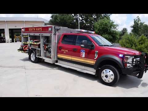 Truck Walk-Around: South Hays Pierce Mini Pumper
