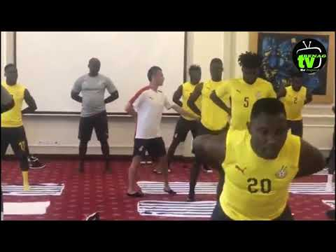 BlackStars had a morning shake up at their team hotel in Suez
