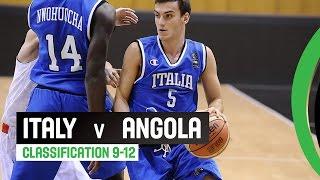 Italy v Angola - Classification 9-12 Full Game - 2014 FIBA U17 World Championship