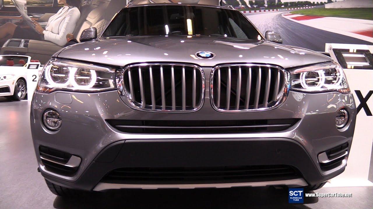 2016 bmw x3 xdrive 28d - exterior and interior walkaround - 2016