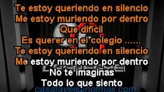 Josenid - Amor De Colegio (Karaoke DEMO)