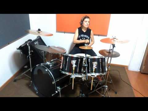 Michael Jackson - Billie Jean (drum cover by Cristina Cará)