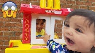 McDonald's Drive Thru Kids Pretend Play / Kids Fun Pretend Play Toy Kitchen Set / Jai Bista Show
