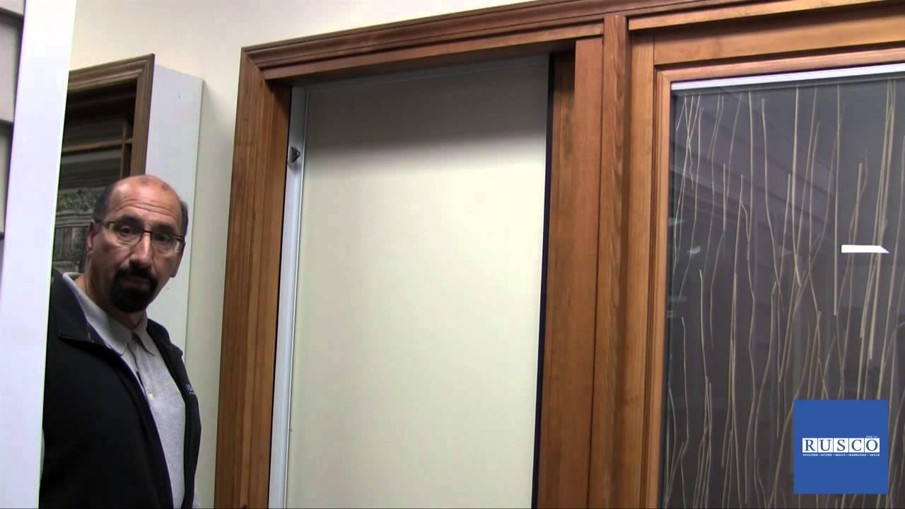Pella Slider Screen Door - YouTube