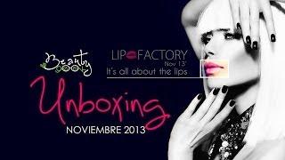 Lip Factory Unboxing November 2013 (Español & English) Thumbnail