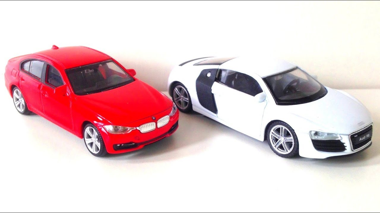 Cars BMW And Audi Kids Toys