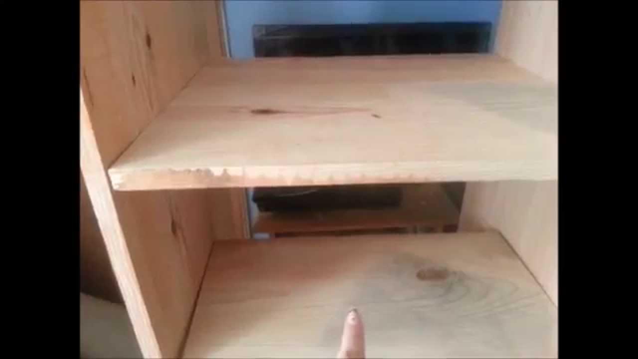Closet de madera youtube for Como construir un kiosco en madera