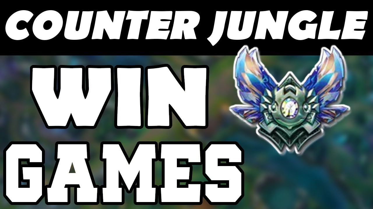How To Counter Jungle Tips Tricks Counter Jungle Guide Proactive Jungling League Of Legends Youtube