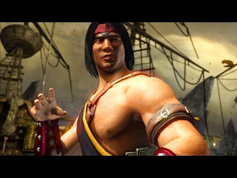 Mortal Kombat X - Liu Kang Tournament Costume Ladder Walkthrough and Ending