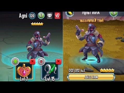 Monster Legends - Herr.Kommissar level 120 combat review