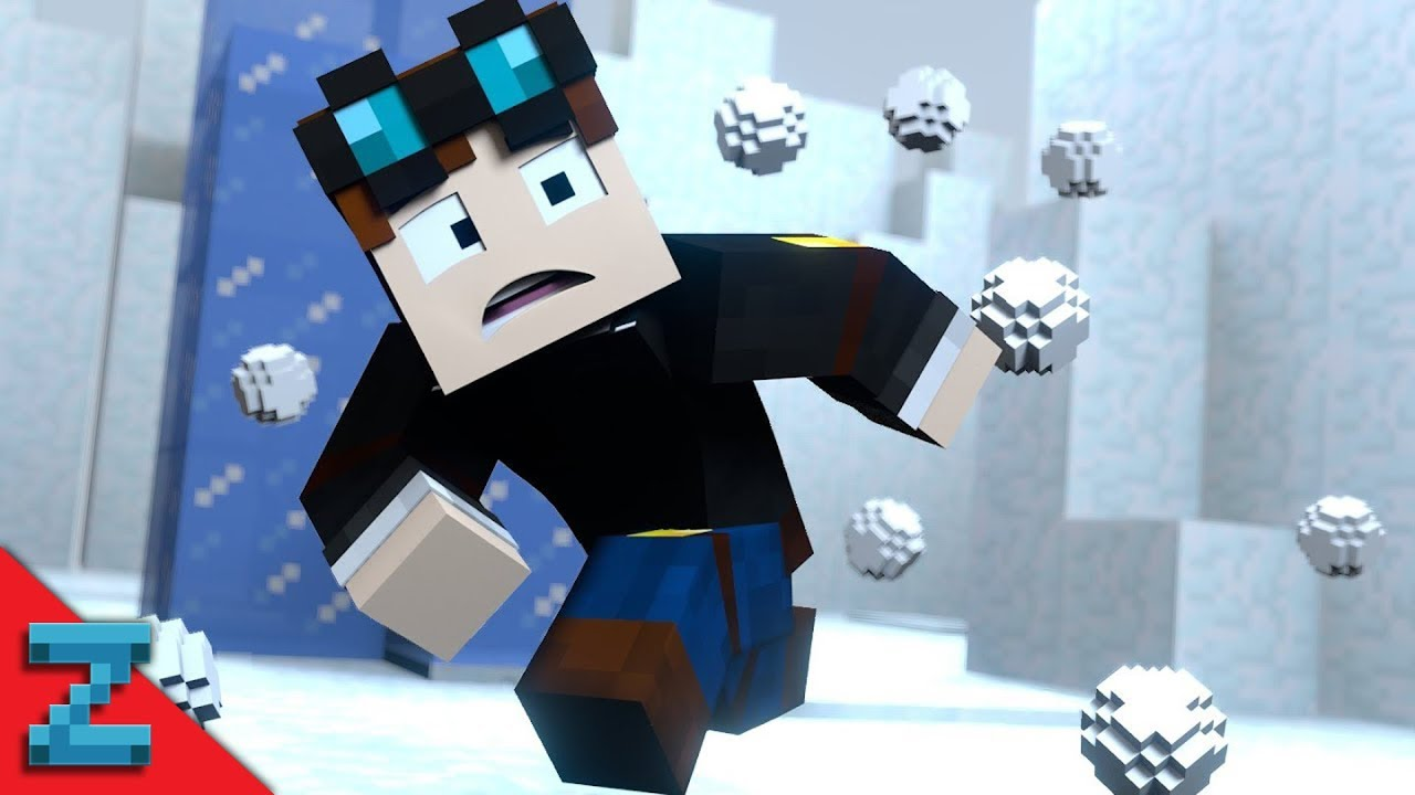 SNOWBALL FIIIIIIGHT The Diamond Minecart Minecraft