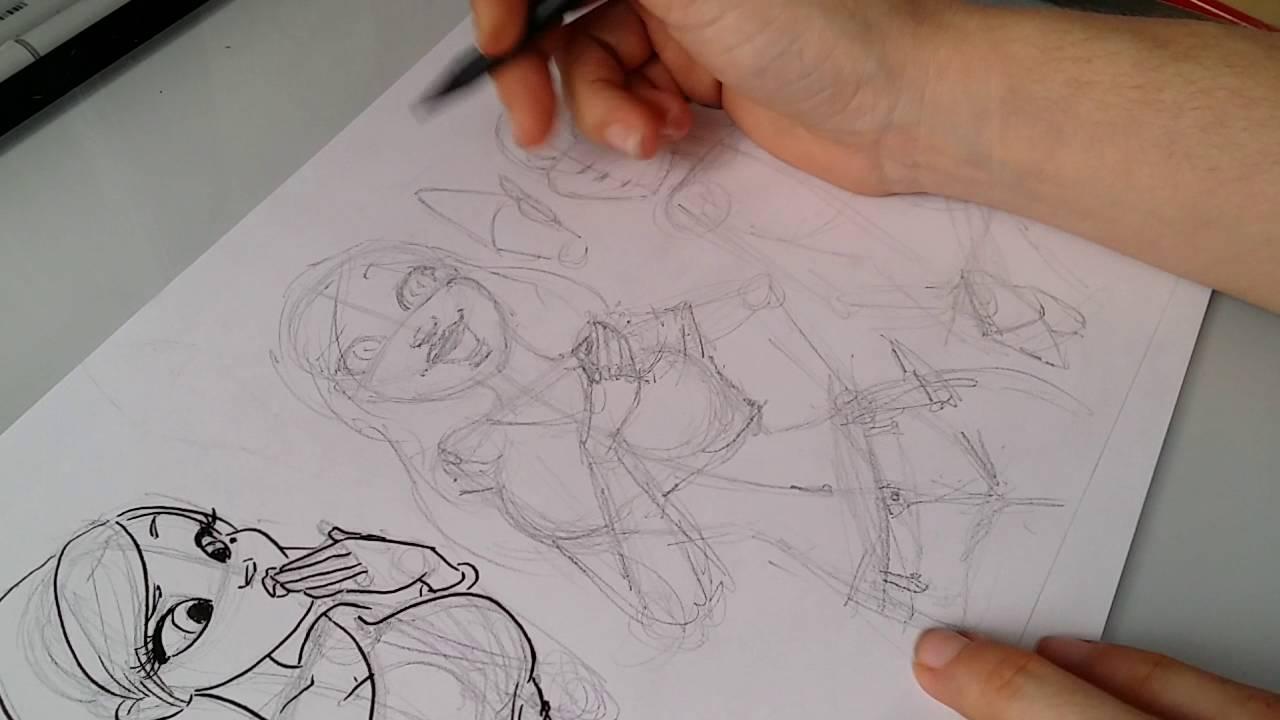 Primeros pasos para ser dibujante de cómic: dibujando con ...