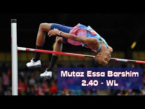 Mutaz Essa Barshim 2.40 - WL - DL Birmingham - Aug 20, 2017