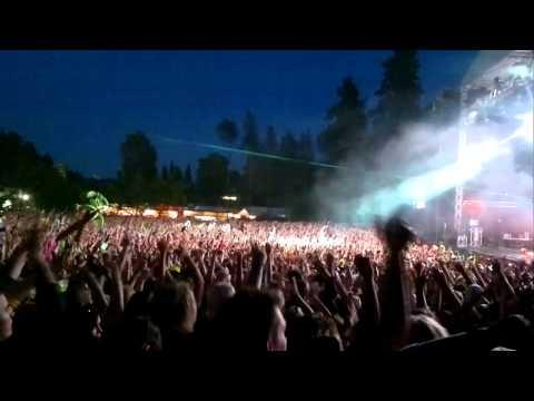 David Guetta Weekend Festival Finland 2012