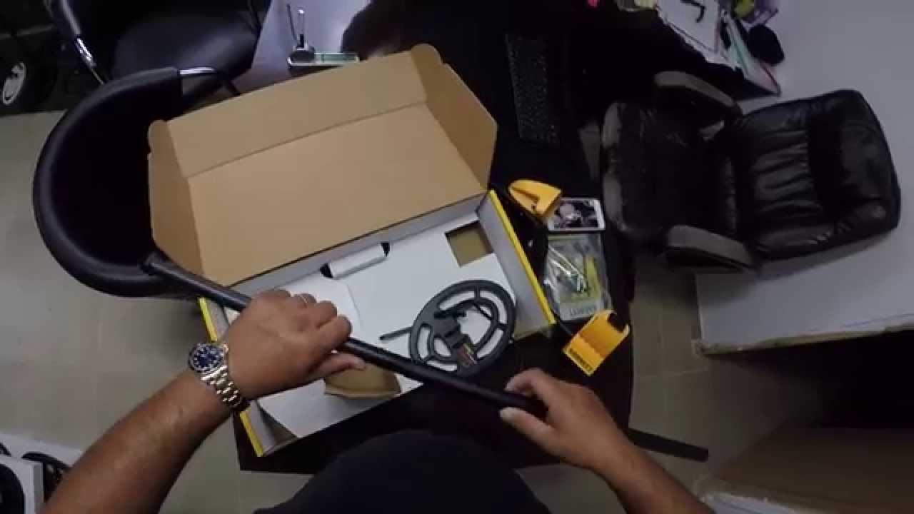 תוספת גלאי מתכות garrett ace250 מה בקופסא? איתן גלאים - YouTube FZ-53